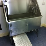 Stainless Steel Animal Bath