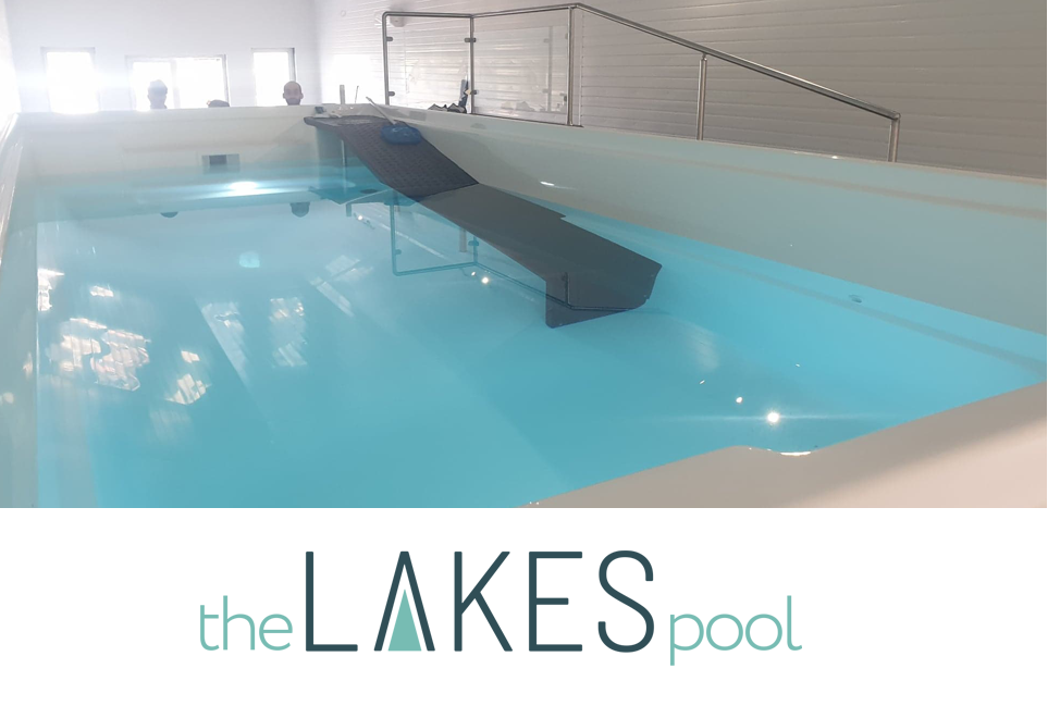 The Lakes hydrotherapy pool, perfect for canine