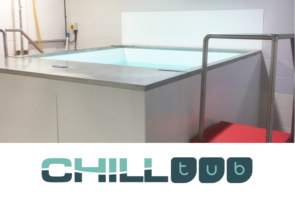 Our Chill Tub is our medium size Ice Bath and is great for two adults